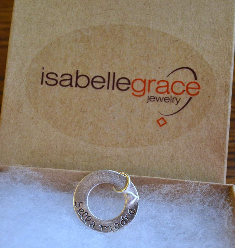 Isabelle Grace Jewelry Bella Madre Necklace Giveaway
