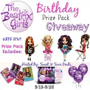 The Beatrix Girls Birthday Prize Pack Giveaway