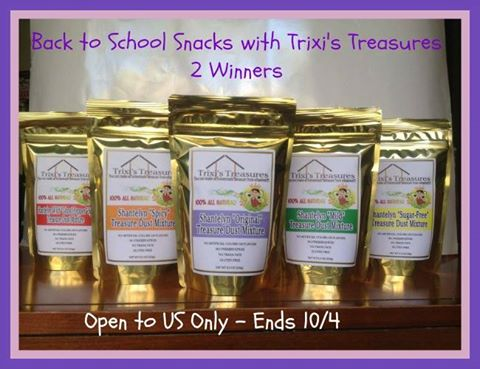 Trixi's Treasures Snack Mixes Giveaway