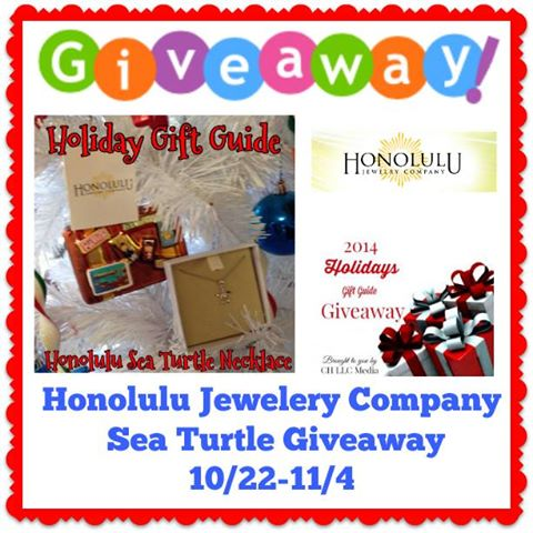 Honolulu Turtle Necklace #GiftGuide Giveaway