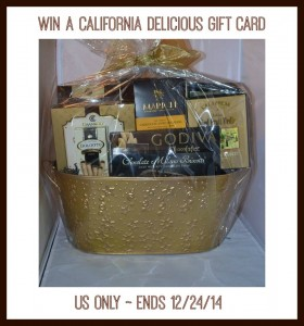 California Delicious $50 Gift Card Giveaway