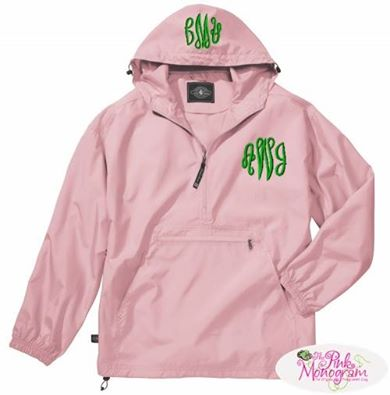Monogram Rain Jacket Giveaway