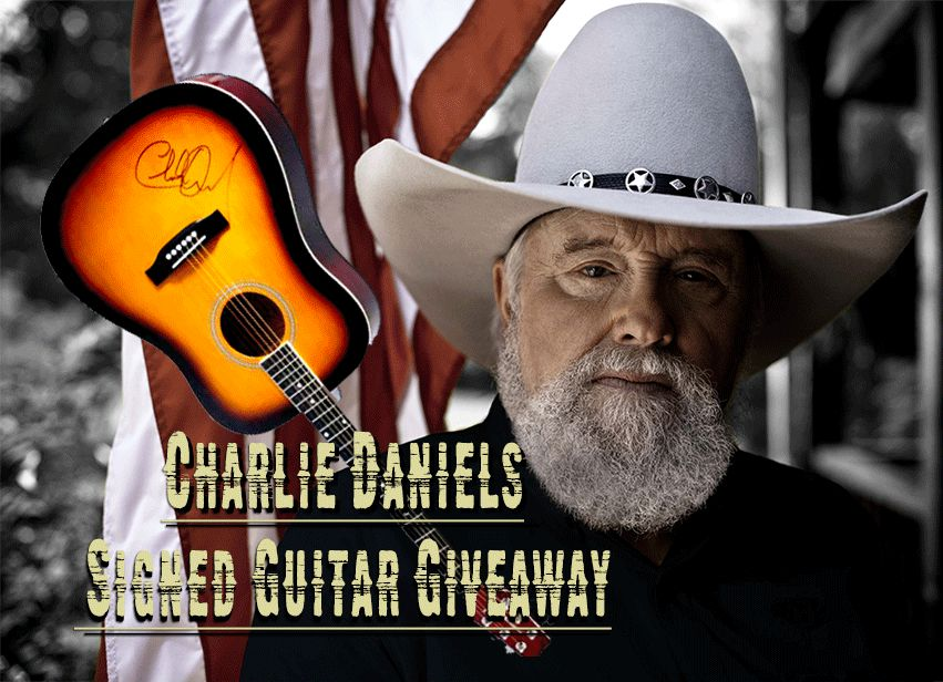 Win a Signed Charlie Daniels Guitar from Patriot Update