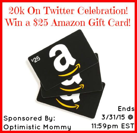 Amazon $25 Gift Card Giveaway1