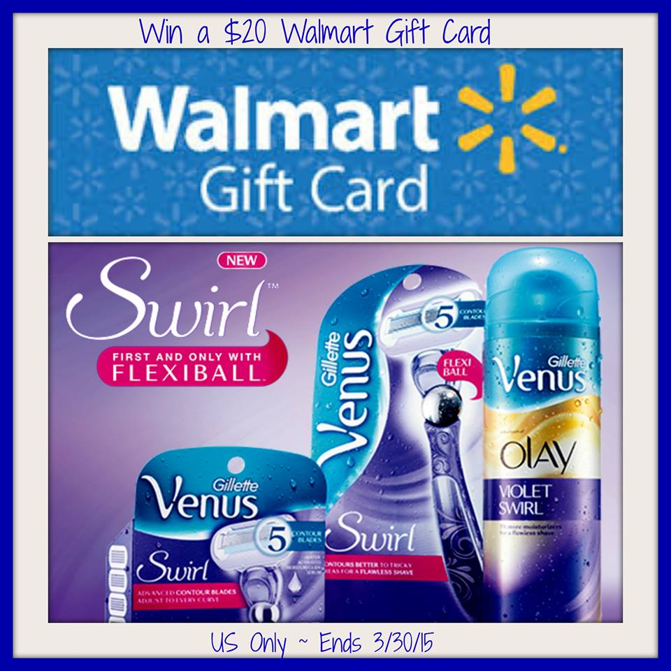 Walmart $20 Gift Card Giveaway