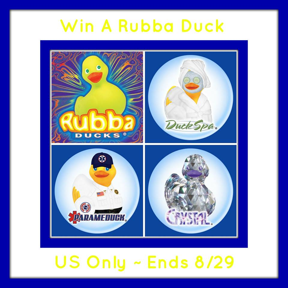 Rubba Duck Giveaway