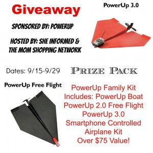 PowerUp Family Kit Giveaway