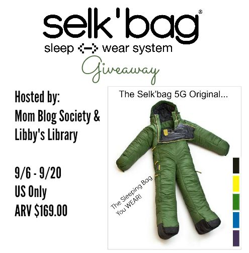 Selk'bag 'Wearable Sleeping Bag' Giveaway