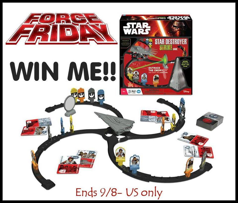 Wonder Forge Star Wars Destroyer Strike Game Giveaway