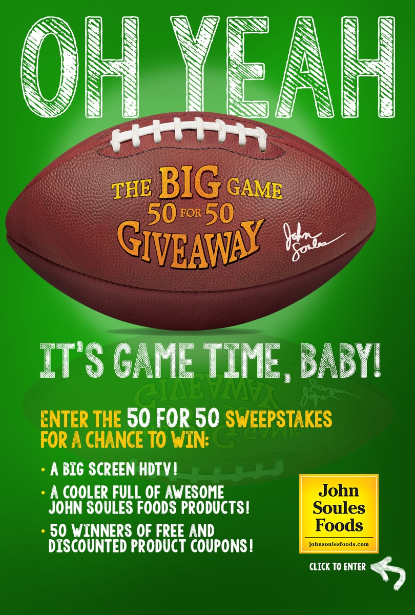 50 For 50 Big Game Sweepstakes