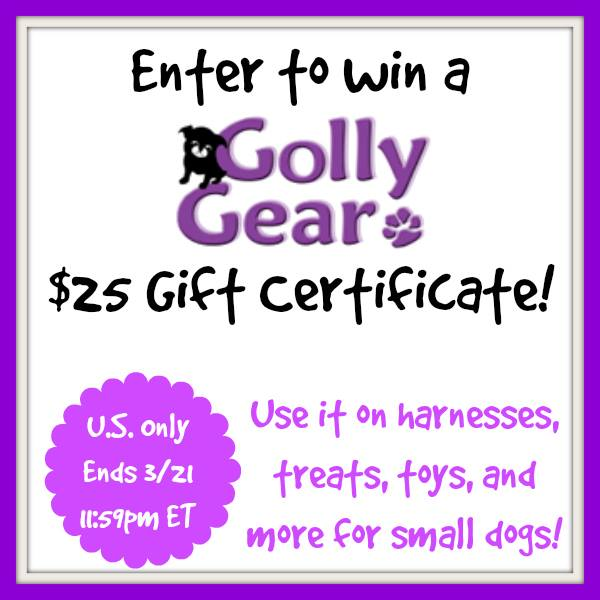 Golly Gear Giveaway