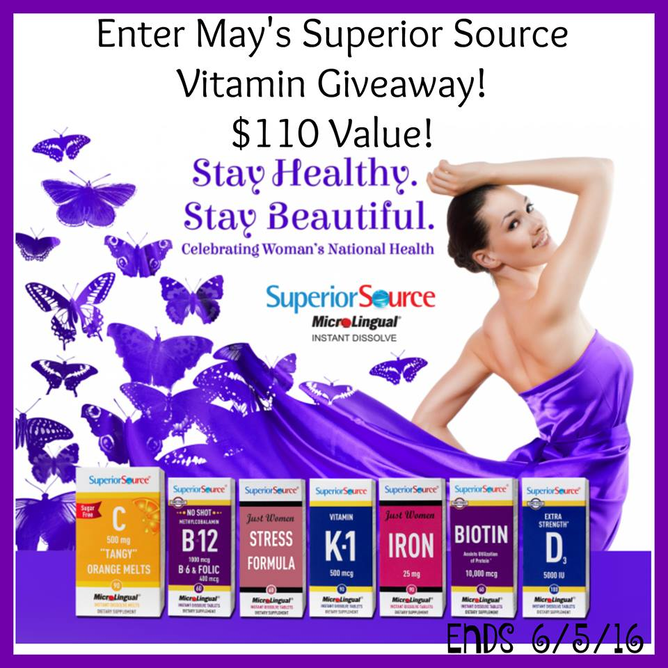 May Superior Source Giveaway
