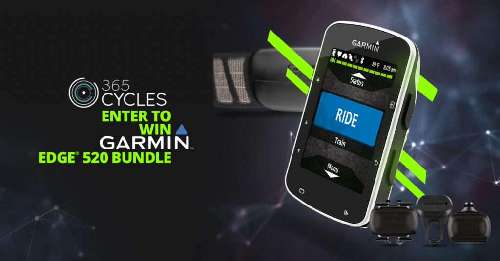 The Garmin Edge 520 Bundle Sweepstakes