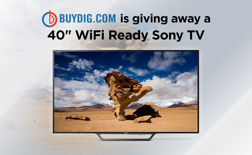 Buydig - Sony 40 Inch TV Sweepstakes