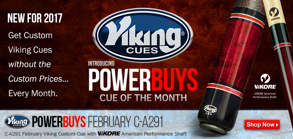 PowerBuys Cue of the Month Giveaway